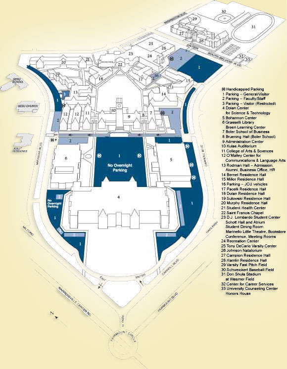 Jcu Campus Map John Carroll University Master Plan   Home Jcu Campus Map