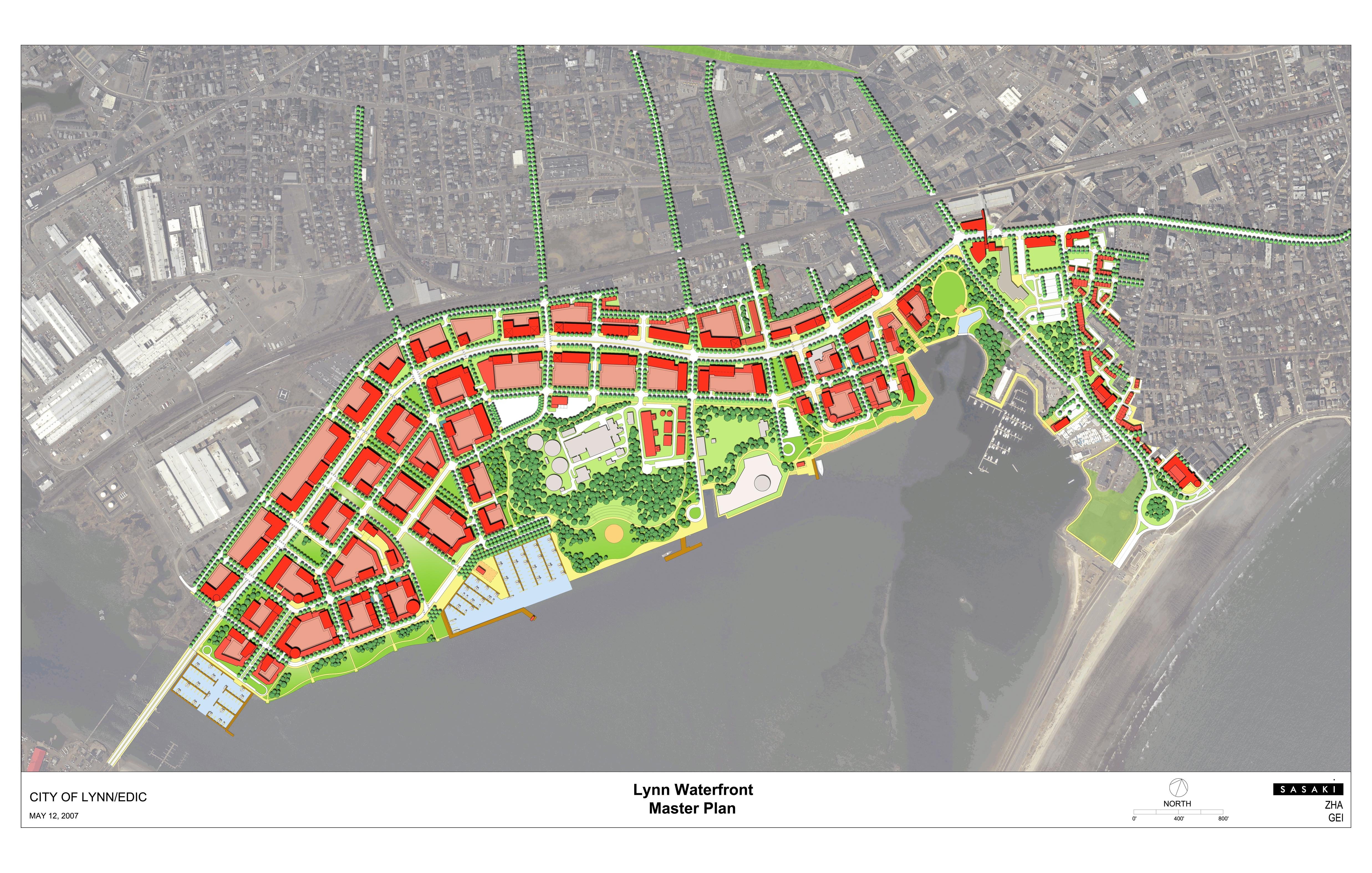 Wondrous Lynn Waterfront Master Plan Work To Date Largest Home Design Picture Inspirations Pitcheantrous