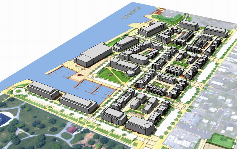 Port of rochester master plan work to date for Site plan 3d